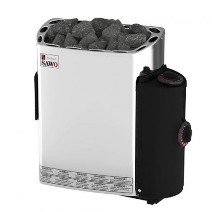 Sähkökiuas Mini PREMIUM 3,0kW, kiinteä ohjauskeskus