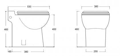 Silppuava wc Planus Garda