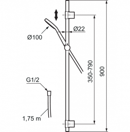 Mora MMIX käsisuihkusetti S6