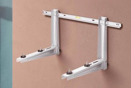 Seinäteline L800 x W420 mm 100kg