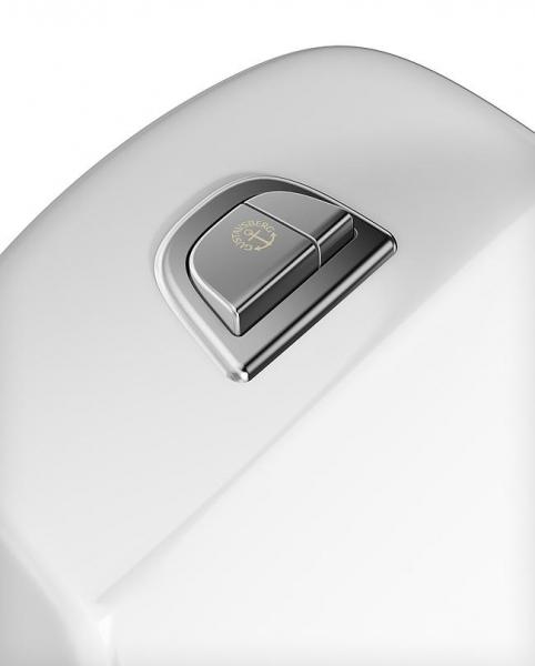 WC-istuin Gustavsberg Nautic HF1591, 2-H, S-lukko, Suuri Jalka, kanneton