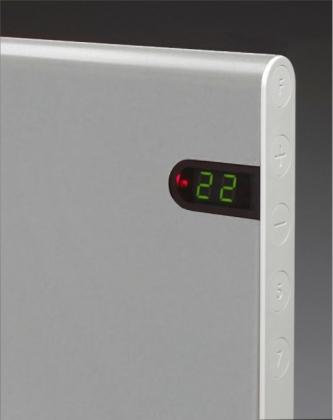 Lämmitin Adax Neo 1000W, 370x672, hopea NP10DT