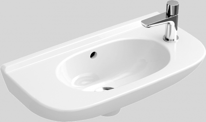 Washbasin Villeroy & Boch O-Novo right 500x250 mm