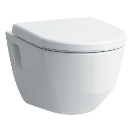 Seinä wc-istuin Laufen Pro Desgign Rimless, ilman istuinkantta