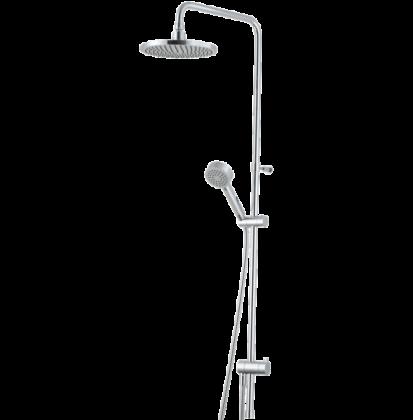 Kattosuihkusetti Mora Rexx Shower System S5 kromi
