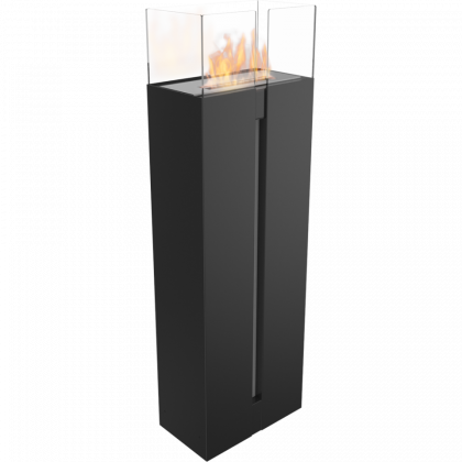 Biofireplace Kratki Romeo black, freestanding