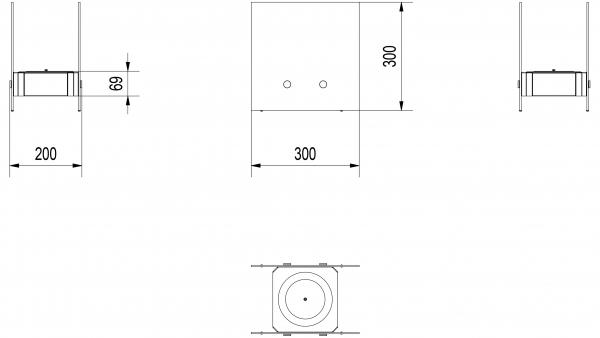 Biotakka Kratki Nest pöydälle