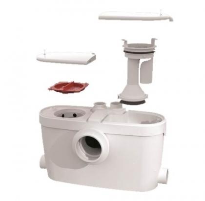 SFA silppuripumppu 3 wc, pesuallas, suihku