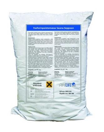 Pipelife fosforinpoistomassa Sauna-Seppo 18 KG