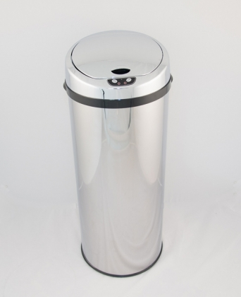 Sensor automatic dustbin 40 L stainless steel