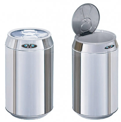 Sensor automatic dustbin 9 L stainless steel