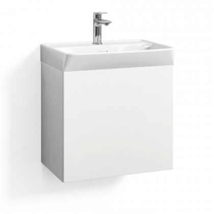 Allaskaappi Svedbergs Skapa 1 laatikolla 55x35cm, valkoinen