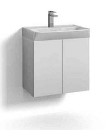 Allaskaappi Svedbergs Skapa 2 ovella 55x35cm, valkoinen