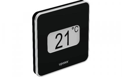 Uponor Smatrix Wave termostaatti, musta Style T-169