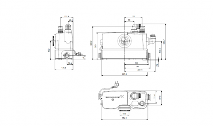 Grundfos Sololift2 WC-3 pienjätevesipumppaamo