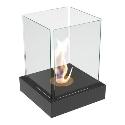 Biofireplace Tango 4 XL, Black, inside or outside the home