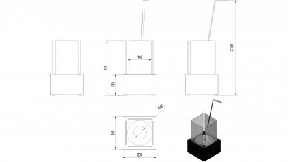 Biotakka Tango 1 Valkoinen pöydälle kopio