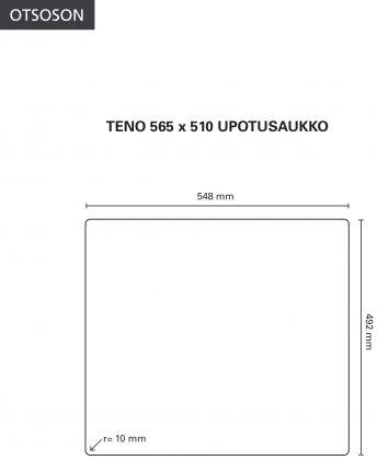 Kettiöallas Otsoson Teno 565x510 musta