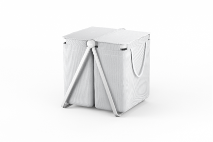 Pyykkikori Stewi TMR20, 100L, valkoinen