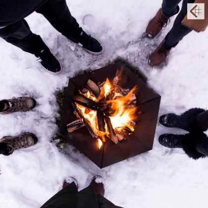 Garden fire pit Kratki Goblet