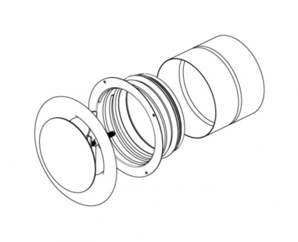 Tuloilmaventtiili Pax Ventilation system kit
