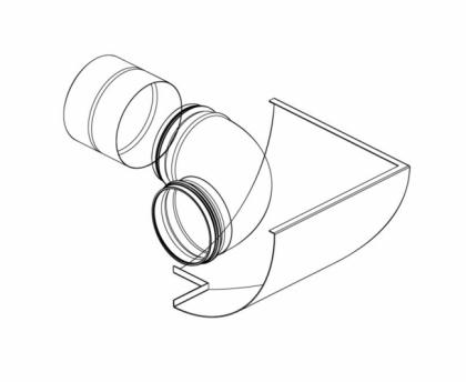 Lisävaruste Pax EOS kit, ulkonurkka