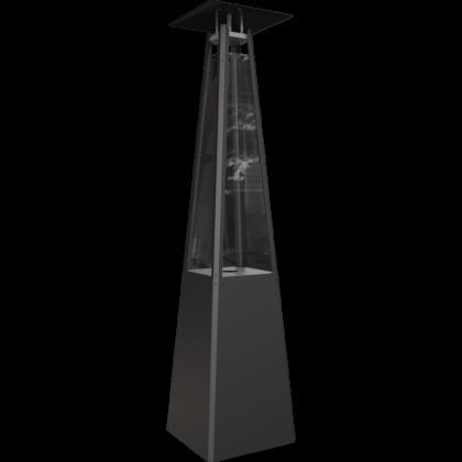 Terassilämmitin Kratki Umbrella, musta