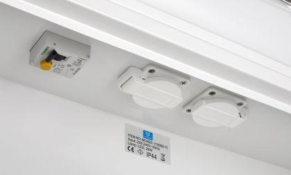 PEILIKAAPPI Tammiholma NEMI 50x62x14,5 CM 28 W LED VVS vikavirtasuojakytkin