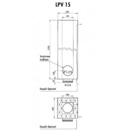 Vallox Huippuimuri 15 P + LPV