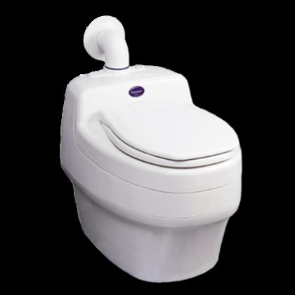 Water-less Toilet Separett Villa 9000
