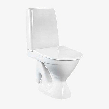 Ido Seven D 13 peruskorjaus wc-istuin, iso jalka