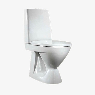 WC-istuin Ido Seven D 10 piiloviemäri-wc , s-lukko