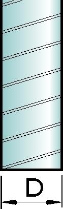Ilmastointiputki Ø125 x 3 m
