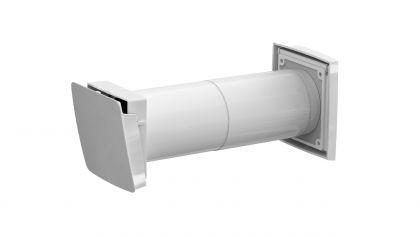 Korvausilmaventtiili Vilpe Wive 100 termostaatilla